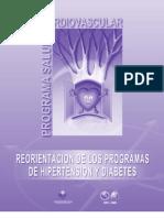 Reorientacion de Los Programas de HTA y DM