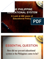 The Philippine Educational System New