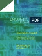 GÜTHNER, S. Grammatik im Gerspräch