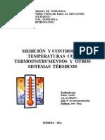 Trabajo de Instrumentación - Temperaturas