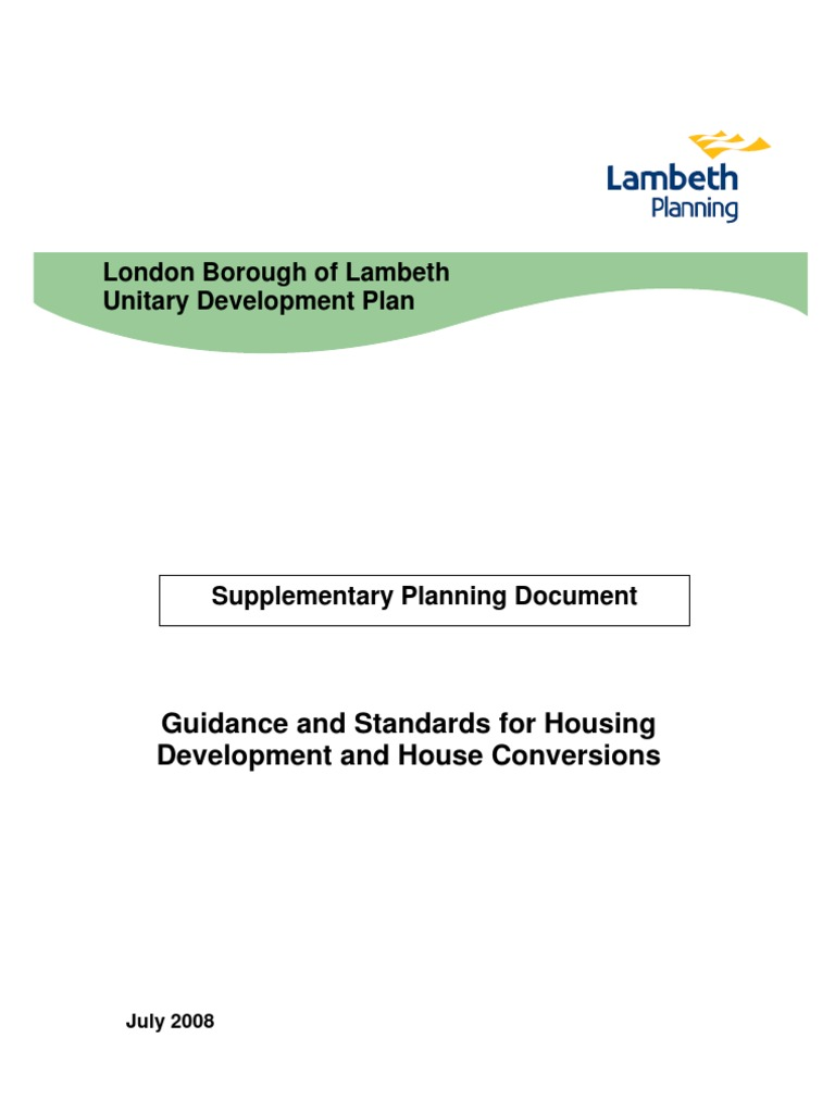 Adopted Housing Development and House Conversions | Accessibility ...