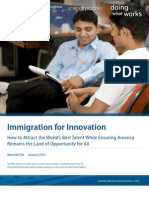 Immigration for Innovation