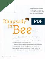 Rhapsody in Bee