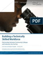 Building a Technically Skilled Workforce