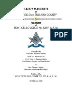 History of Freemasonry in Sullivan County - Alvin O Benton