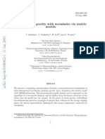 J. Ambjørn et al- Lorentzian 3d gravity with wormholes via matrix models