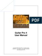 Guitar Pro Manual