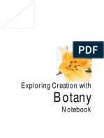 Botony Notebook