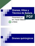 Drenes Hilos y Tecnica de Sutura 1196121420850453 4