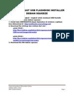 Cara Membuat Usb Flashdisk Installer Debian Squeeze