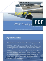 RNAV Training for ATC 2007
