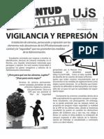 Vigilancia y represión, Boletín #1, Enero 2012