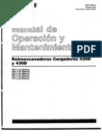 Manual Retroexcavadora 420D