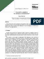 Associative Anaphora - An Atempt of Formalization