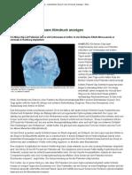 Implantierter Sensor Kann Hirndruck Anzeigen