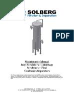 Maintenance Manual Scrubbers