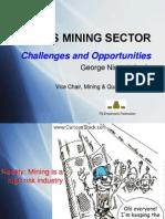 Fef - Fiji Mining Sector - Challenges Opportunities - George Niumataiwalu