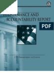 U.S. DOJ Performance and Accountability Report FY 2011