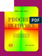 Progress in Physics 2009