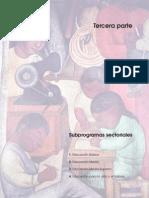 Plan Nacional Educativo 2001-2006