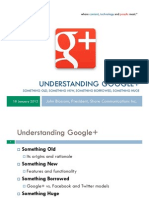 Understanding Google Plus - Fairco TEEM Presentation