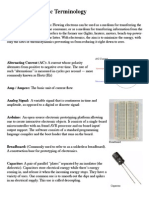 Electronic Terminology