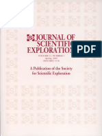 Journal of Scientific Exploration- Volume 21, Number 1
