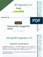 MongoDB Pagination