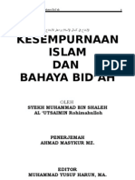 Kesempurnaan Islam Dan Bahaya Bidaah