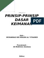 Prinsip[  dasar keiman