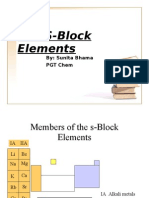 The S-Block Elements