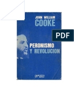 7385464 John William Cooke Peronismo y Revolucion