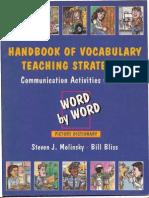 Handbook of Vocabulary Teaching Strategies