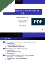 Metodologias Para Implantacion Del SGSI