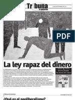 Neoliberalismo y Posmodernidad Periodico Tribuna 593 26 Sep 2011