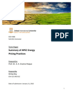 APEC Energy Economics Summary