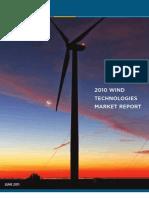 2010 Wind Technolgies Market Report