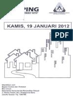 Scan Kliping Berita Perumahan Rakyat 19 Januari 2012