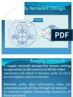 Supply Network Design