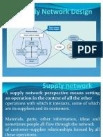 Supply Network Design