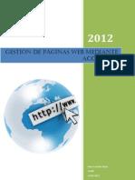 Gestion de Paginas Web Mediante Acceso FTP