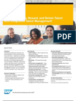 Identify Develop Reward and Retain Talent With Integrated Talent Management (US)