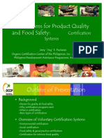Jing Presentation Food Safety Certification Systems