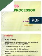 8086 Microprocessor Architecture 2