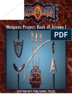 Earthdawn - Weapons Project 1 - Book of Arrows