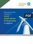 Report_ Exploring Community Acceptance of Rural Wind Farms in Australia a Snapshot_CSIRO2012