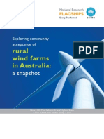 Report_ Exploring Community Acceptance of Rural Wind Farms in Australia a Snapshot_CSIRO2012