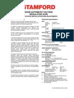 Sx440,STAMFORD Manual