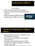 11 Relationships in Different Cultures 2012