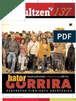 137 iraultzen (aldizkari sindikala, revista sindical, journal syndical)